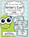 """""""Do You Have A Writer's Eye?"""" cards"""
