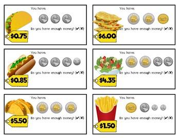Do You Have Enough Money?: Food
