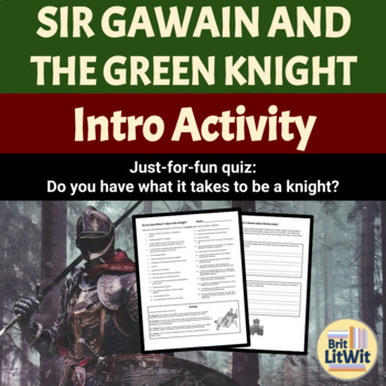 Do You Have What It Takes to Be a Knight? Quiz (Sir Gawain/Arthur tales)