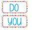 Do You Have a Writer's Eye BoHo Bird Theme Brights Polka Dots