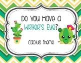Do You Have a Writer's Eye? Cactus
