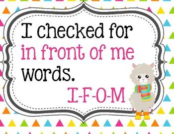 Do You Have a Writer's Eye? Llama or Alpaca theme