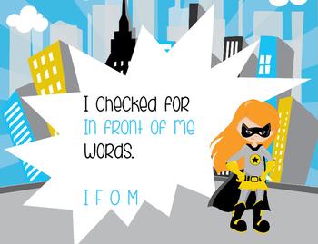 Do You Have a Writer's Eye Super Hero Theme