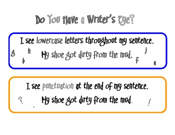 Do You Have a Writer's Eye?