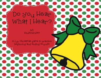 Do You Hear What I Hear? Christmas Sounds Game