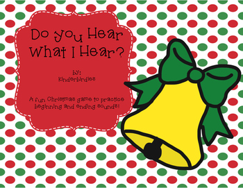 Do You Hear What I Hear? Christmas Sounds Game