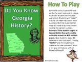 """Do You Know Georgia History?  """"SCOOT"""""""