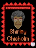 Women in History Shirley Chisholm
