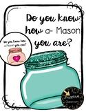 Teacher Appreciation Gift Tags - Do You Know How A-Mason You Are? Editable Text!