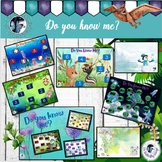 Do You Know Me?  Math Game Boards