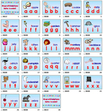 Do You Know These Letter Sounds follow along pages by David