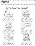 Do You Know Your Alphabet?