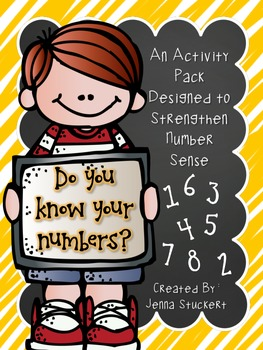 Do You Know Your Numbers? (An Activity Pack Designed to Strengthen Number Sense)