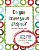 Do You Know Your Shapes? (Freebie)