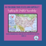 Do You Know Your States and Capitals? (Grades 4-6)
