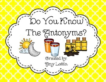 Do You Know the Antonyms?