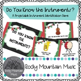 Do You Know the Instruments? Projectable Games