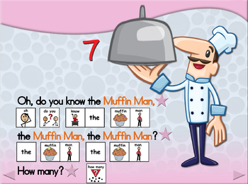 Do You Know the Muffin Man? - Animated Step-by-Step Song - SymbolStix
