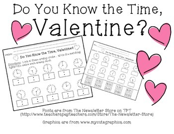 Do You Know the Time, Valentine?
