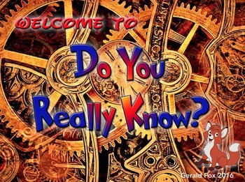 Do You Really Know Keynote Game