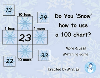 Do You Snow How to Use a 100 chart?
