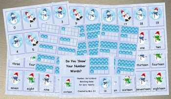 Do You Snow Your Number Words?