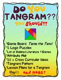 Do You Tangram?  Tangram Unit Study