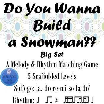 Do You Wanna Build A Snowman BIG SET