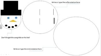 Do You Wanna Build A Snowman Solfege/Rhythm Bundle