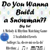 Do You Wanna Build A Snowman BIG SET
