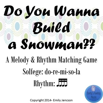 Do You Wanna Build A Snowman: Level 3