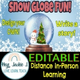 Do You Wanna Build a Snow Globe? Fun Winter /Holiday Activity