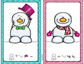 Do You Wanna Build a Snowman?  Long O Practice