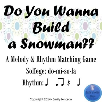 Do You Wanna Build a Snowman d-m-s-l