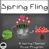 Spring Fling Music Program