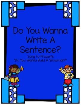 Do You Wanna Write A Sentence? Song