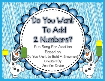 Do You Want To Add 2 Numbers?  Based On 'Do You Want to Build A Snowman?'