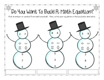 Do You Want To Build A Math Equation?