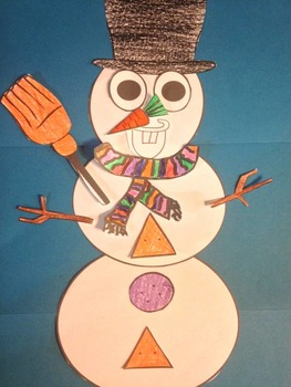 Do You Want To Build A Snowman Craftivity