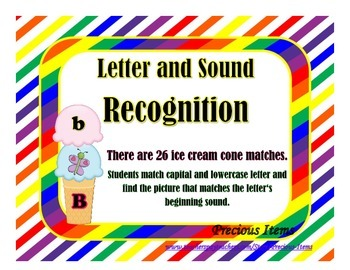 Do You Want a Treat?  Letters and Sound Recognition