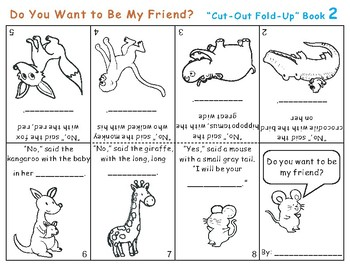 Do You Want to Be My Friend? Eric Carle Cut-Out Fold-Up Book