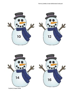 Do You Want to Build A Snowman? Adding Doubles