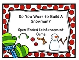 Do You Want to Build A Snowman? Open-Ended Reinforcement Game