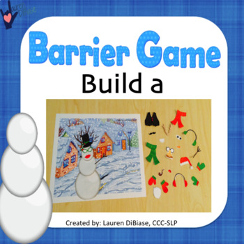 Barrier Game - Do You Want to Build a Snowman?