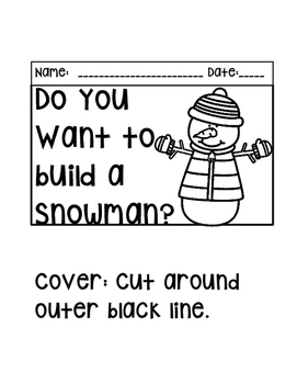Do You Want to Build a Snowman? By The 2 Teaching Divas