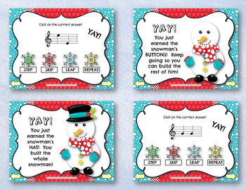 Do You Want to Build a Snowman? Step, Skip, Leap, & Repeat Interactive ID Game