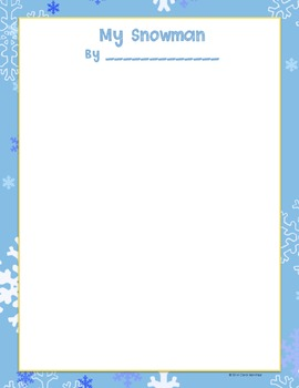 Do You Want to Build a Snowman? {Winter Writing Fun!}