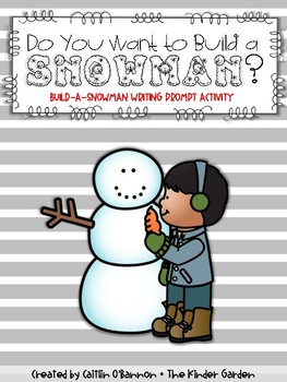 Do You Want to Build a Snowman? {Writing Activity Prompt Freebie}