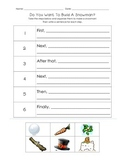 Do You Want to Build a Snowman? Writing Steps