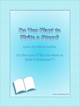 Do You Want to Write a Story? (Frozen Parody)